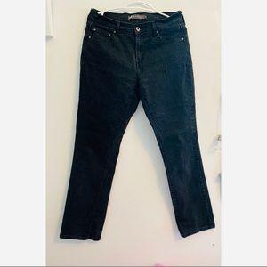 Women's Levi's 505 jeans black color size 6